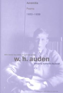 Juvenilia: Poems, 1922-1928 (Paperback)