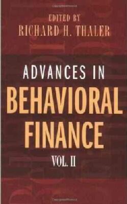 Advances In Behavioral Finance (Paperback)