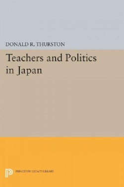 Teachers and Politics in Japan (Paperback)