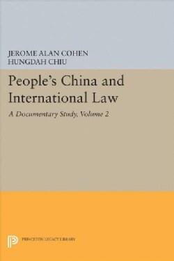 People's China and International Law: A Documentary Study (Hardcover)
