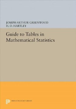 Guide to Tables in Mathematical Statistics (Hardcover)