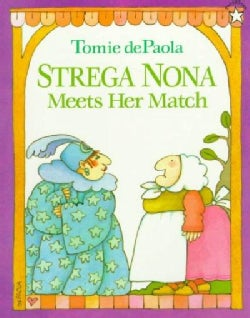 Strega Nona Meets Her Match (Paperback)