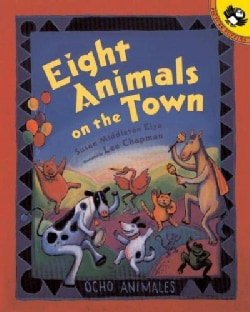 Eight Animals on the Town (Paperback)