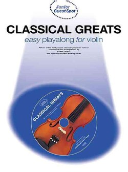 Classical Greats: Easy Playalong for Violin with CD (Audio)