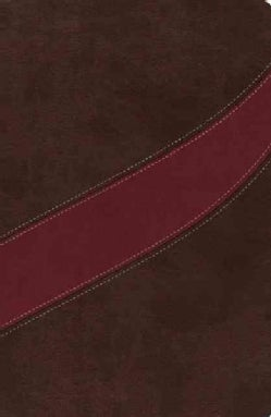 The MacArthur Study Bible: New American Standard Bible Cranberry / Earth Brown Leathersoft (Paperback)