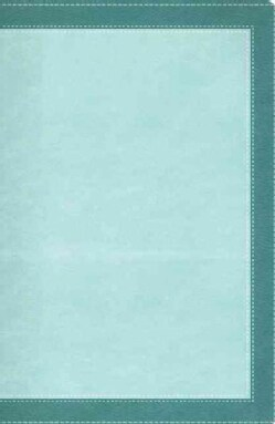 The Woman's Study Bible: New International Version Turquoise / Sea Foam Green Leathersoft (Paperback)