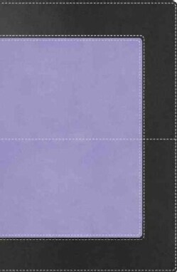 Holy Bible: New King James Version, Charcoal Shimmer / Lavender, Leathersoft, Super Giant Print Reference (Paperback)