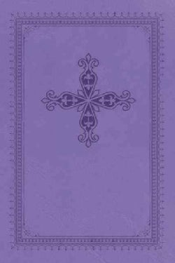 The Holy Bible: New King James Version Rich Lavender Leathersoft Ultraslim Bible (Paperback)