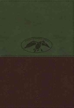 The Duck Commander Faith and Family Bible: New King James Version Olive/Earth Brown Leathersoft (Paperback)