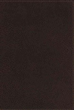 Holy Bible: New King James Version, Earth Brown Leathersoft Reference Bible (Paperback)