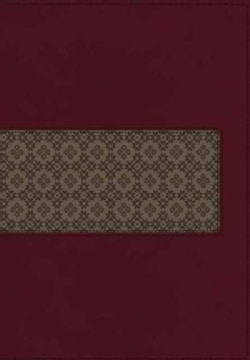The King James Study Bible: King James Version, Rich Ruby/Warm Taupe, Leathersoft (Paperback)