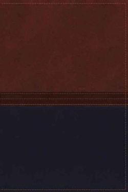 The Macarthur Study Bible: New King James Version, Auburn/Navy, Leathersoft (Paperback)