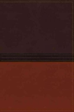 The Macarthur Study Bible: New American Standard Bible, Earth Brown/Burnt Orange Leathersoft (Paperback)