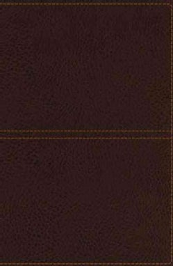 Holy Bible: King James Version, Earth Brown, Giant Print Center-column Reference Bible (Paperback)