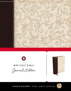 Holy Bible: King James Version, Journal Edition, Single Column, Personal, Lightweight (Paperback)