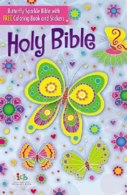 The Butterfly Sparkle Bible: International Children's Bible (Hardcover)