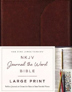 NKJV Journal the Word Bible: New King James Version: Reflect on Your Favorite Verses (Paperback)