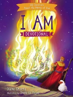 I Am Devotional: 100 Devotions About the Names of God (Hardcover)