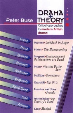 Drama + Theory: Critical Approaches to Modern British Drama (Paperback)