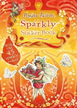 Flower Fairies Sparkly Sticker Book (Paperback)