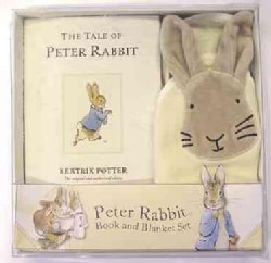 Peter Rabbit Book and Blanket Set