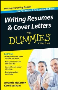 Australian & New Zealand Writing Resumes & Cover Letters for Dummies (Paperback)