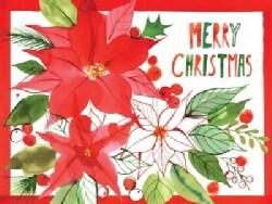 Christmas Poinsettia (Cards)
