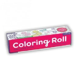 Flower Garden Coloring Roll (Toy)