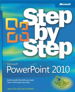 Microsoft PowerPoint 2010 Step by Step (Paperback)