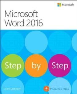 Microsoft Word 2016 Step by Step (Paperback)