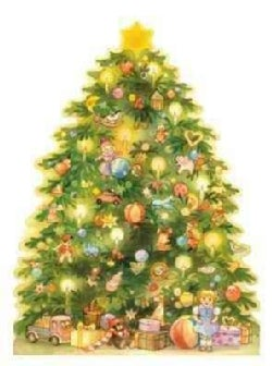 A Christmas Tree Advent 2003 Calendar (Calendar)