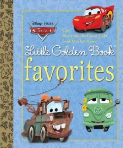 Cars Little Golden Book Favorites (Hardcover)