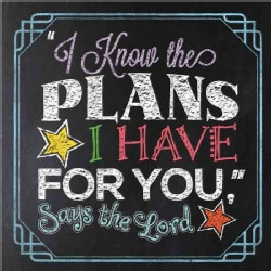 I Know the Plans I Have for You, Says the Lord (Hardcover)