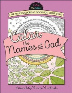 Color the Names of God (Paperback)