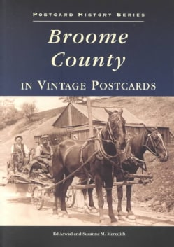 Broome County in Vintage Postcards (Paperback)