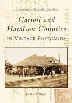 Carroll And Haralson Counties In Vintage Postcards (Paperback)