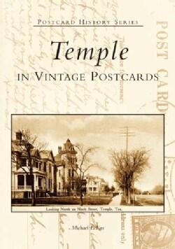 Temple: In Vintage Postcards (Paperback)