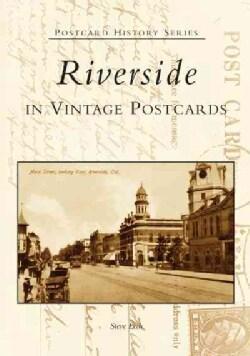 Riverside In Vintage Postcards (Paperback)