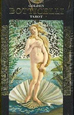 Golden Botticelli Tarot/ Tarot Dorado de Botticelli (Cards)