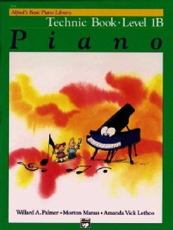 Alfred's Basic Piano Library: Technique Level 1B (Paperback)