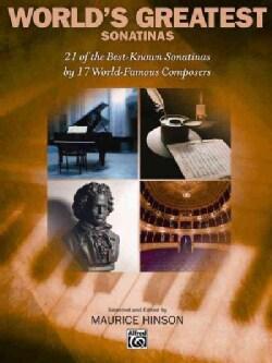 World's Greatest Piano Sonatinas: For Piano (Paperback)