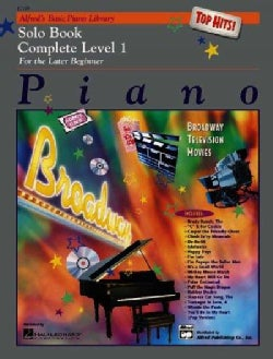 Alfred's Basic Piano Top Hits!: Solo Complete Level 1 (Paperback)