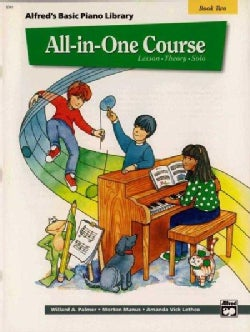 Alfred's Basic All-in-One Course Book 2: Lesson, Theory, Solo (Paperback)