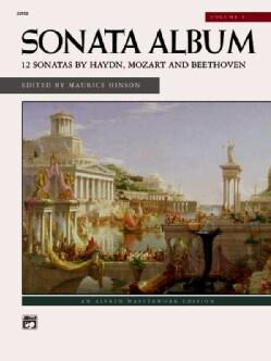 Sonata Album: 12 Sonatas by Haydn, Mozart and Beethoven (Paperback)