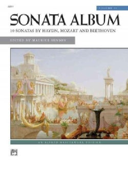 Sonata Album: 10 Sonatas By Haydn, Mozart and Beethoven (Paperback)