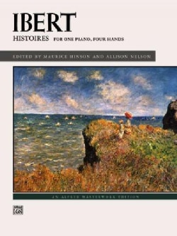 Histoires: For One Piano, Four Hands (Paperback)