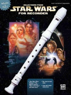 Selections from Star Wars for Recorder (Paperback)
