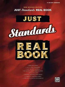 Just Standards Real Book: B Flat Edition Fakebook (Paperback)