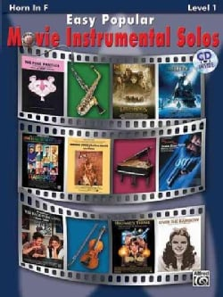 Easy Popular Movie Instrumental Solos for Horn in F: Level 1