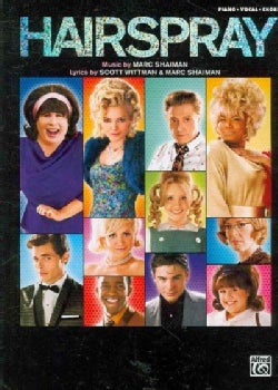 Hairspray, Piano/Vocal/Chords: Soundtrack to the Motion Picture (Paperback)